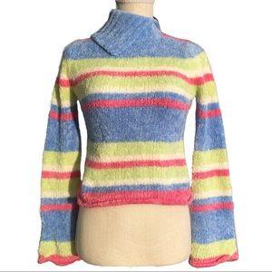 VTG Glittery Striped Sweater